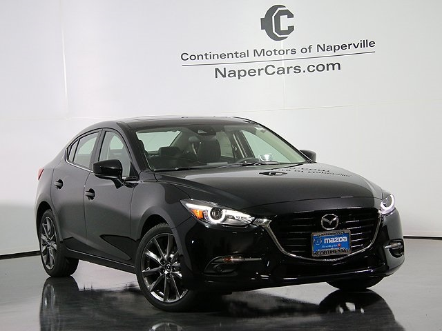 New 2018 Mazda Mazda3 Grand Touring 4d Sedan In Naperville 3j104 Continental Mazda Of Naperville