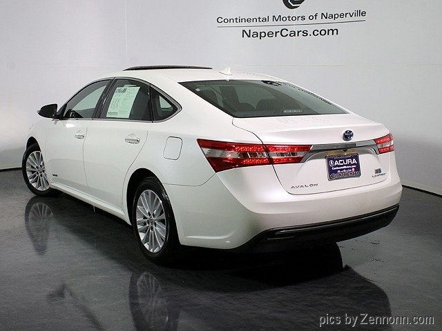 pre owned 2013 toyota avalon hybrid limited 4d sedan in naperville 1p7436 continental mazda. Black Bedroom Furniture Sets. Home Design Ideas