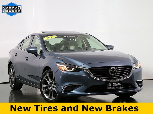 Certified Pre-Owned 2016 Mazda6 i Grand Touring W/GT Tech Package