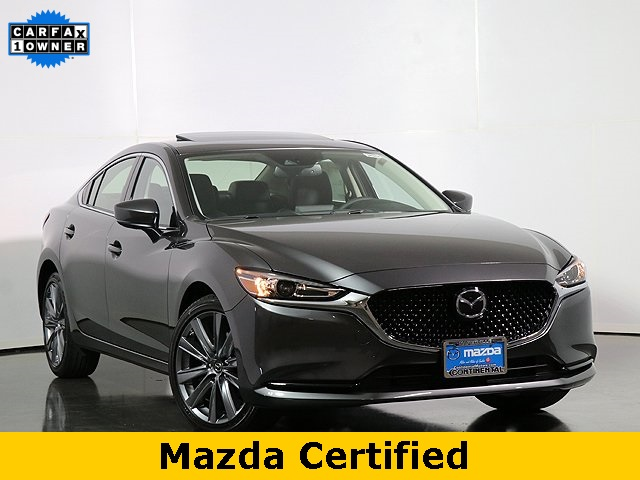 Certified Pre-Owned 2019 Mazda6 Grand Touring W/Heated Seats