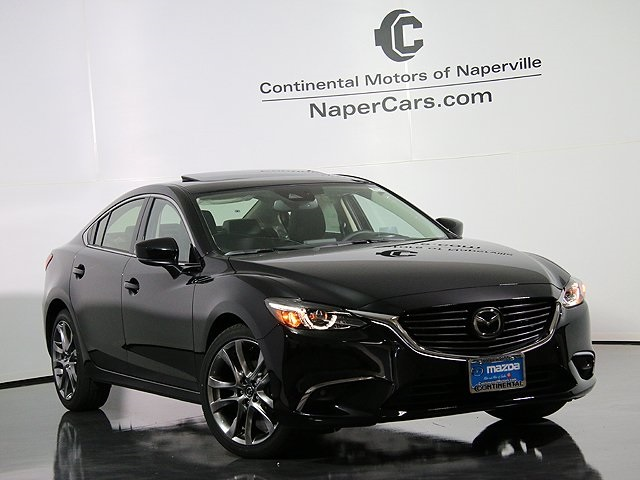 new 2017 mazda mazda6 grand touring 4d sedan in naperville 3h789 continental mazda of naperville. Black Bedroom Furniture Sets. Home Design Ideas