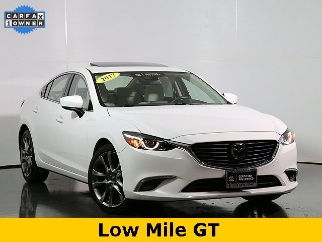 Certified Pre-Owned 2017 Mazda6 Grand Touring W/Navigation