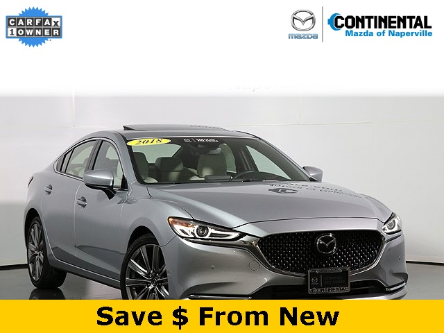 Certified Pre-Owned 2018 Mazda6 Signature W/Nappa Leather
