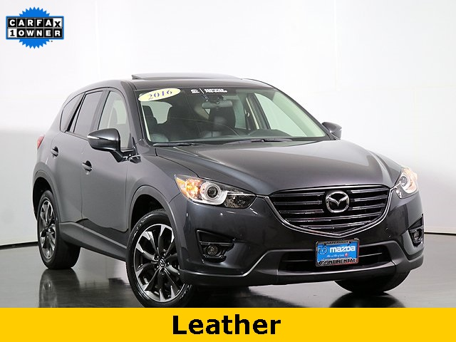 Certified Pre-Owned 2016 Mazda CX-5 Grand Touring W/Moonroof