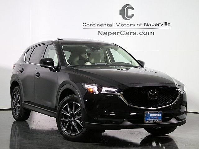 New 2018 Mazda Mazda Cx 5 Grand Touring 4d Sport Utility In Naperville 3j248 Continental
