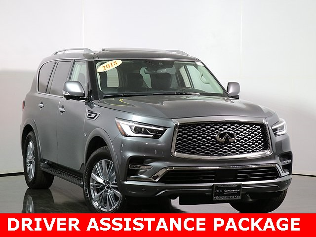 Pre-Owned 2018 INFINITI QX80 Base / Driver Assist / Theater pack