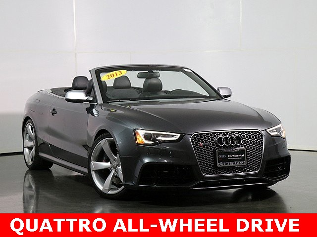 Pre-Owned 2013 Audi RS 5 4.2