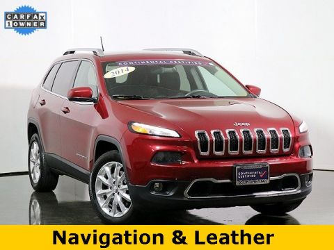 Pre-Owned 2014 Jeep Cherokee Limited