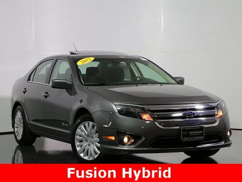 Pre-Owned 2012 Ford Fusion Hybrid Base