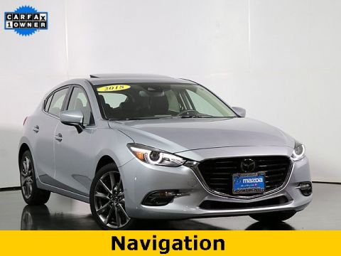 Certified Pre-Owned 2018 Mazda3 Grand Touring W/Prem Eq Pkg