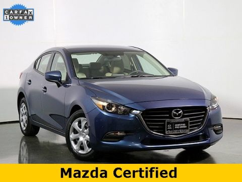 Certified Pre-Owned 2017 Mazda3 Sport W/Automatic