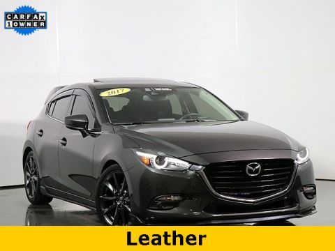Certified Pre-Owned 2017 Mazda3 Grand Touring W/Heated Steering Wheel