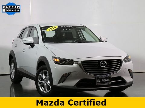 Certified Pre-Owned 2016 Mazda CX-3 Touring W/Heated Seats
