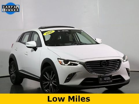 Certified Pre-Owned 2016 Mazda CX-3 Grand Touring W/Leather