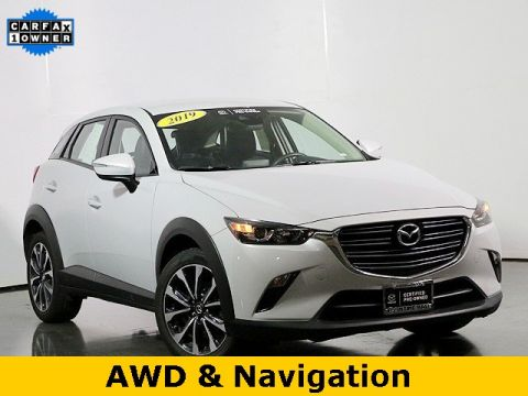Certified Pre-Owned 2019 Mazda CX-3 Touring W/Navigation