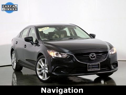 Pre-Owned 2014 Mazda6 i Touring W/Navigation