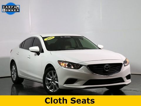 Certified Pre-Owned 2016 Mazda6 i Sport Automatic