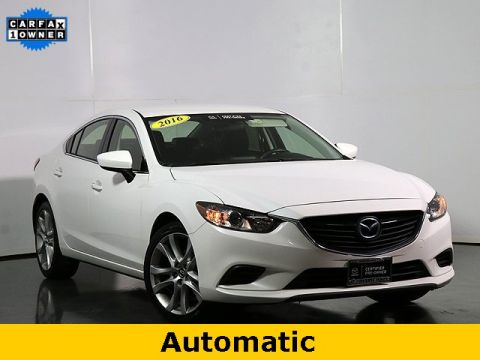 Certified Pre-Owned 2016 Mazda6 i Touring W/Blind Spot Monitoring