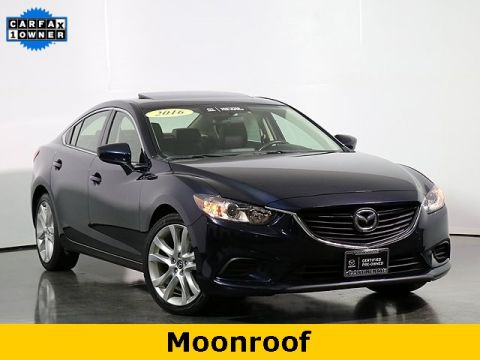 Certified Pre-Owned 2016 Mazda6 i Touring Moonroof & Bose