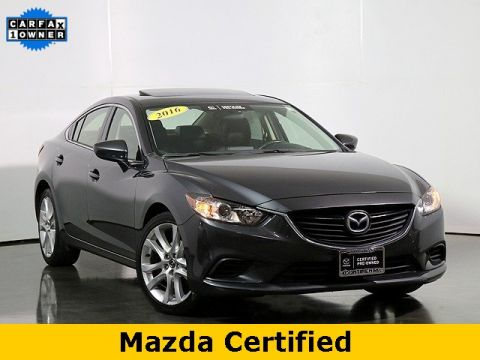 Certified Pre-Owned 2016 Mazda6 i Touring W/Moonroof
