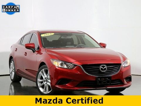 Certified Pre-Owned 2016 Mazda6 i Touring W/Leatherette