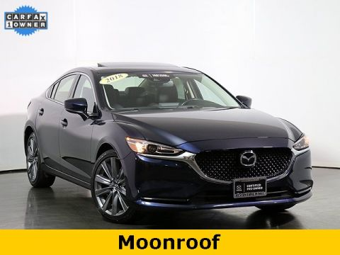 Certified Pre-Owned 2018 Mazda6 Grand Touring W/Leather