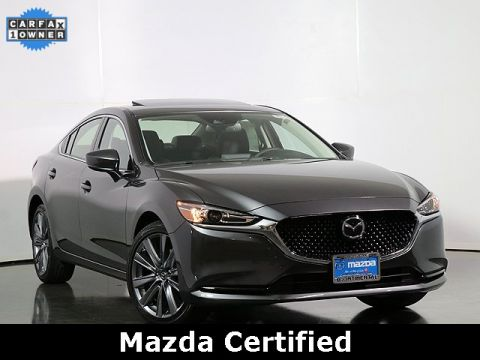 Certified Pre-Owned 2019 Mazda6 Grand Touring W/Sirius Radio