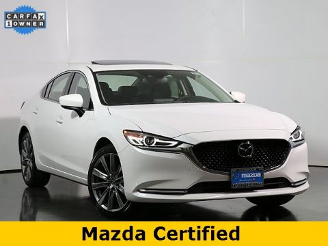 Certified Pre-Owned 2019 Mazda6 Grand Touring Reserve w/Low Miles