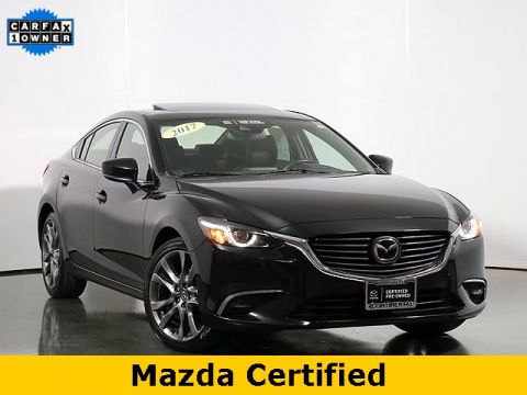 Certified Pre-Owned 2017 Mazda6 Grand Touring W/ i E Loop