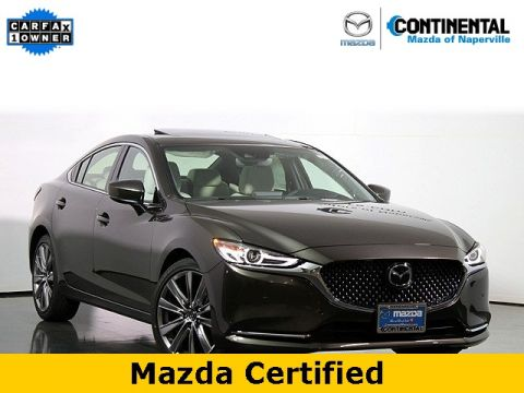 Certified Pre-Owned 2018 Mazda6 Signature W/Nappa Leather Interior