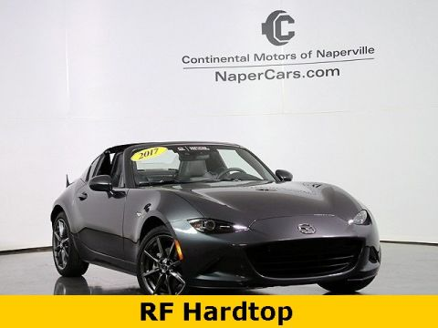 Certified Pre-Owned 2017 Mazda MX-5 Miata RF Grand Touring