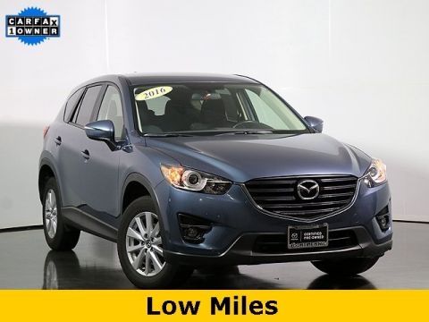 Certified Pre-Owned 2016 Mazda CX-5 Touring W/Back Up Camera