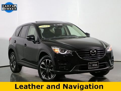 Certified Pre-Owned 2016 Mazda CX-5 Grand Touring W/ Navigation