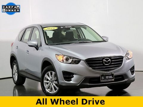 Certified Pre-Owned 2016 Mazda CX-5 Sport W/Back Up Camera