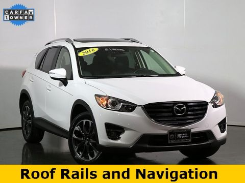 Certified Pre-Owned 2016 Mazda CX-5 Grand Touring W/Roof Rails