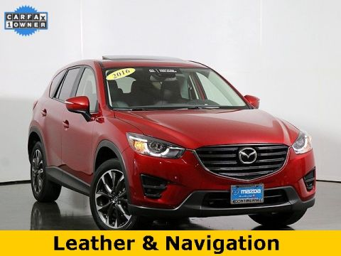 Certified Pre-Owned 2016 Mazda CX-5 Grand Touring W/Blind Spot Monitoring