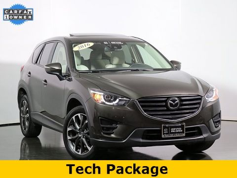 Certified Pre-Owned 2016 Mazda CX-5 Grand Touring w/I Activesense Package