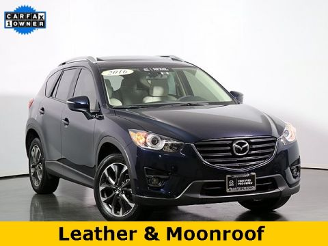 Certified Pre-Owned 2016 Mazda CX-5 Grand Touring W/ Leather