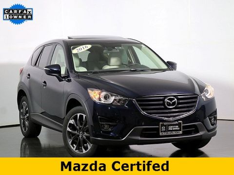 Certified Pre-Owned 2016 Mazda CX-5 Grand Touring W/Moonroof & Bose Audio