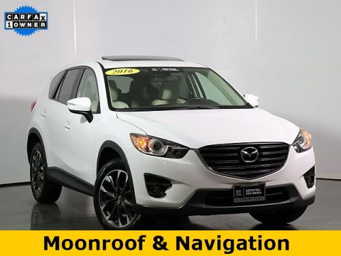 Certified Pre-Owned 2016 Mazda CX-5 Grand Touring W/NAVIGATION
