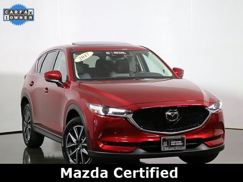 Certified Pre-Owned 2017 Mazda CX-5 Grand Touring All Wheel Drive
