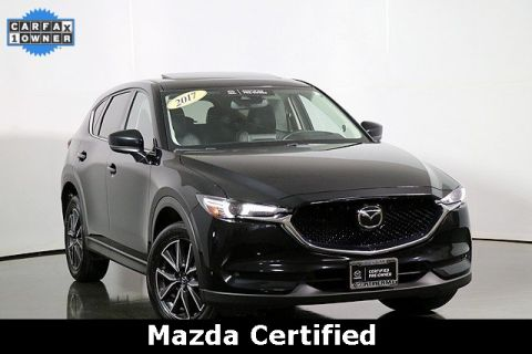 Certified Pre-Owned 2017 Mazda CX-5 Grand Touring Premium Package