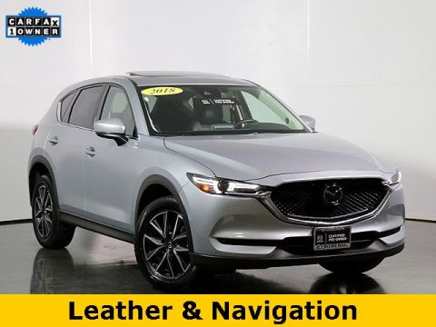 Certified Pre-Owned 2018 Mazda CX-5 Grand Touring W/ Navigation