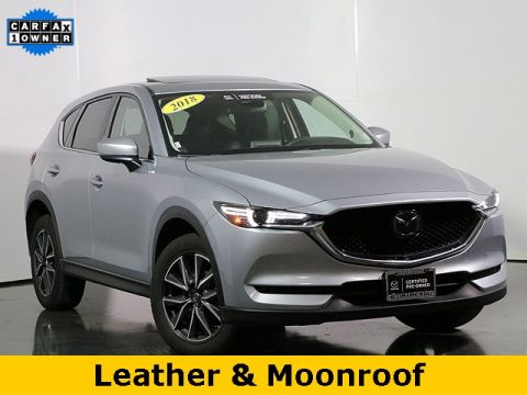 Certified Pre-Owned 2018 Mazda CX-5 Grand Touring w/NAVIGATION SYSTEM