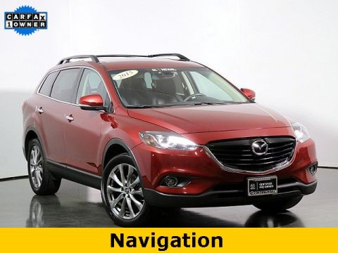 Certified Pre-Owned 2015 Mazda CX-9 Grand Touring W/Rear Entertainment