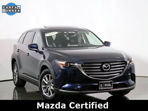 Certified Pre-Owned 2017 Mazda CX-9 Touring W/Premium Package
