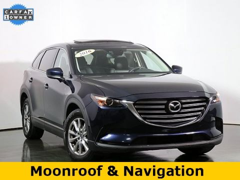 Certified Pre-Owned 2016 Mazda CX-9 Touring W/ Premium Package