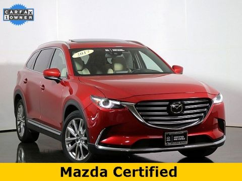 Certified Pre-Owned 2017 Mazda CX-9 Grand Touring All Wheel Drive