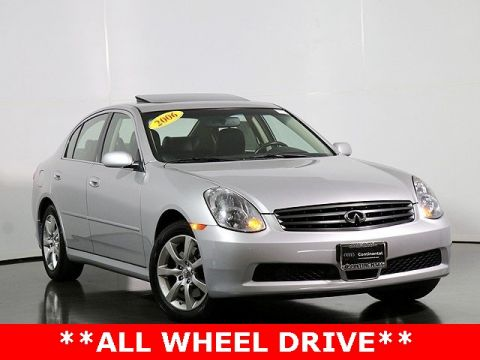 Pre-Owned 2006 INFINITI G35 X