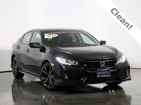 Pre-Owned 2018 Honda Civic Sport